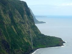 Rugged Hamakua Coast on Hawaii's Big Island
