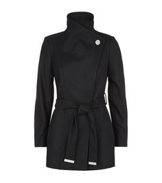 TED BAKER Paria Wrap Coat. #tedbaker #cloth #
