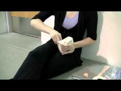 Callie Manning with Miami City Ballet demonstrates her pointe shoe preparing rituals.