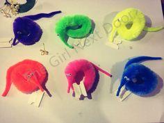 2015 Magicians Toy Baralho Mr.fuzzy Magica Worm Magic Trick Twisty Plush Wiggle Stuffed Animals Street Toy For kids gift 21cm  Price: 0.87 USD