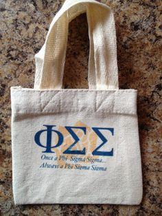 Phi Sigma Sigma Sorority Shower Tote! $10.00 included Shower Gel, Shampoo and hair Conditioner. Soon to be available at www.jbgreek.com