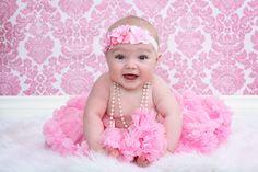 Baby girl pose idea