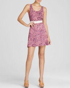 Aqua Dress - Mary Anne Crochet Inset