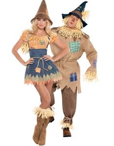 Scarecrow Couples Costumes - Party City