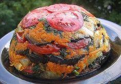 Летний овощной торт — пальчики оближете. Лучше любых закусок!