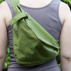 Hands-Free Hobo Bag - free pattern