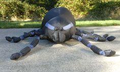Gemmy Airblown 4' Spider Black Purple Inflatable Halloween Decoration Prop | eBay