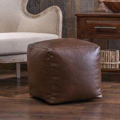 Home Loft Concepts Zayden Bean Bag Pouf Ottoman - Walmart.com