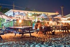 Calico Jack's Grand Cayman love this place...it's just a walk down the beach from our condo....great Jerk Chicken!