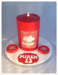Yankee Candle Cake Images : Cakes for Cayden Creations on Pinterest Sparkle Wedding ...