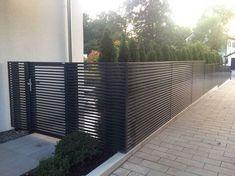 de The post Designzaun Magnus super-zaun.de appeared first on Gartengestaltung ideen. Unique Garden, Modern Garden Design, Landscape Design, Modern Design, Garden Fence Panels, Garden Fencing, Garden Privacy, Intranet Portal, Pinterest Garden