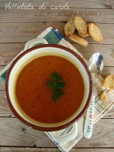 creamy carrot soup - Ricetta della vellutata di carote