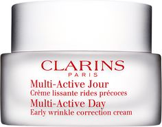 Clarins, Multi-Active cream. See more beauty reviews at www.beautyo50.com