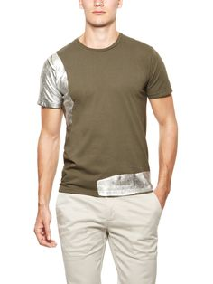Metal Paint Tee by Nice Collective at Gilt