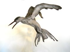 Swift Tern driftwood sculpture by Tony Fredriksson www.openskywoodart.com