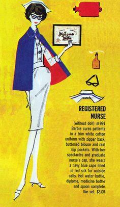 Barbie - Registered Nurse #991