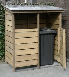Home Discover Garbage Can Shed Garbage Can Storage Backyard Projects Outdoor Projects Garden Projects Storage Shed Plans Storage Bins Bin Shed Bin Store Garbage Can Shed, Garbage Can Storage, Backyard Projects, Outdoor Projects, Garden Projects, Outside Storage, Outdoor Storage, Wood Storage, Storage Bins