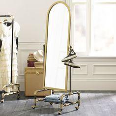 The Emily & Meritt Floor Mirror from PBteen. Saved to Emily & Meritt. Shop more products from PBteen on Wanelo. Girls Bedroom Furniture, Living Room Furniture, Bedroom Decor, Bedroom Stuff, Furniture Layout, My New Room, My Room, Girl Room, Parisian Bedroom