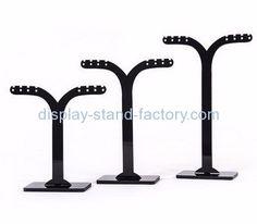 Custom acrylic jewellery display stands earring holder jewelry retail display NJD-026