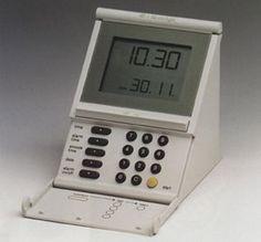 Braun DB 10 sl Digitale Batterie-Weckuhr  iF DESIGN AWARD 1991