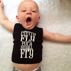 Pretty Fly For A Small Fry | baby boy clothes | by Root Avenue