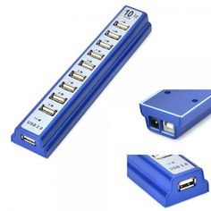 10 Port #HighSpeed #USB #Hub #Adapter #Laptops #PC $15.25  #ubetechno #promoted Ubetechno
