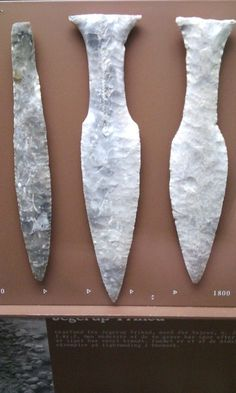Danish flint daggers