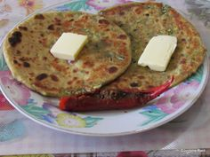 With Love from Mom's Kitchen: Patta Gobhi Ke Paranthe (Cabbage stuffed Pan Fried...