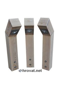 Mizarstvo Hrovat - Wooden siberian larch garden lamps - Lesena vrtna luč iz sibirskega macesna http://www.hrovat.net/izdelki/lesene-vrtne-luci-2/lesena-vrtna-luc-iz-sibirskega-macesna/