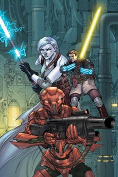 Star Wars Knights of the Old Republic 13 cover art by Brian Ching