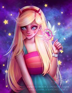 Star Butterfly by breesciarpa Cartoon Icons, Cartoon Art, Starco Comics, Star Y Marco, Kawaii 365, Princess Star, Star Force, Art Anime, Modern Disney
