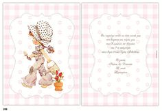 Picture of Προσκλητήριο βάπτισης sarah kay Sarah Kay, Christening, Place Cards, Place Card Holders, Pictures, Party, Drawings, Clip Art
