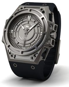 New Linde Werdelin SpidoLite Titanium Watch: Svend Andersen Finished Movement, Available Skeletonized, With DLC