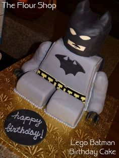 LEGO Batman Birthday Cake. WAH