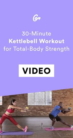 Swap the dumbbells for a kettlebell. #greatist https://greatist.com/fitness/kettlebell-workouts-30-minute-total-body-routine
