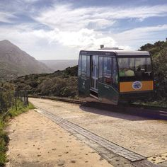 Happy Father's Day from Cape Point! Why not treat your dad to a ride on the Flying Dutchman and save him the steep uphill walk to the best views in the Cape! Ways To Travel, Travel Info, Interesting Photos, Cool Photos, Provinces Of South Africa, Flying Dutchman, Cape Town South Africa, My Land, Transport