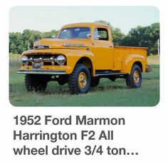 1952 Ford Marmon Harrington