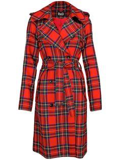 D tartan Coat
