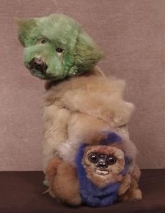 Extreme Dog Grooming: Ewok Face Oh, this poor dog *chuckle* :( Puppy Care, Dog Care, Extreme Pets, Funny Dogs, Cute Dogs, Creative Grooming, Dog Haircuts, Dog Hairstyles, Poor Dog