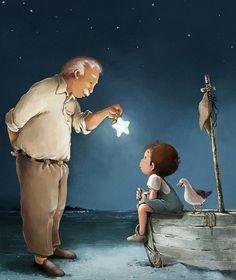 mllecharlott:  Du rêve, de la lumière, des étoiles plein les yeux… pour une imagination débordante, vivante