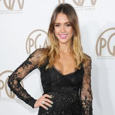 7cebffa8c7b3 jessica alba works springsummer beauty at producers guild awards jessica  alba celebrity style and fashion 450x450