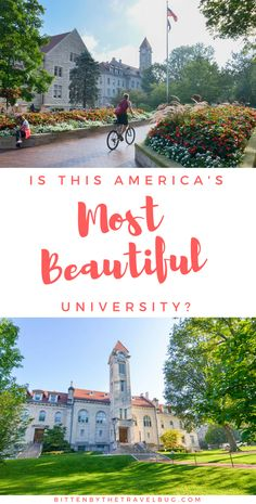 Is Indiana University the most beautiful university in America? I sure thing so! From the stories hidden in the classic limestone architecture to the secrets in its buildings, come explore of this incredible campus. | #VisitBtown #Bloomington #Indiana #USA