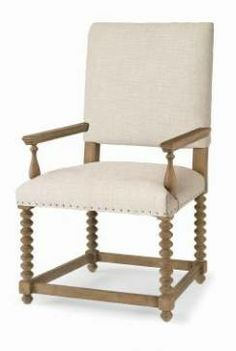 Smith Spindle Leg Dining Arm Chair Acacia And Oak Solid Legs With Charcoal  Upholstery And Nail