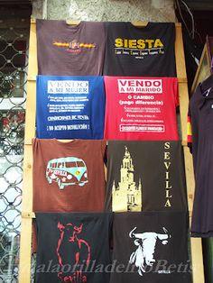 Típicas camisetas