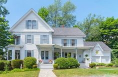 victorian homes New Hampshire | Here's the Quinessential New Hampshire Summer Home | CIRCA Old ...
