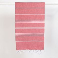 Hand Towels – Hammam Towel Nane red – a unique product by yolunda on DaWanda Gifts For Mum, Hand Towels, Unique, Handmade, Steam Room, Red, Stripes, Towels, Craft
