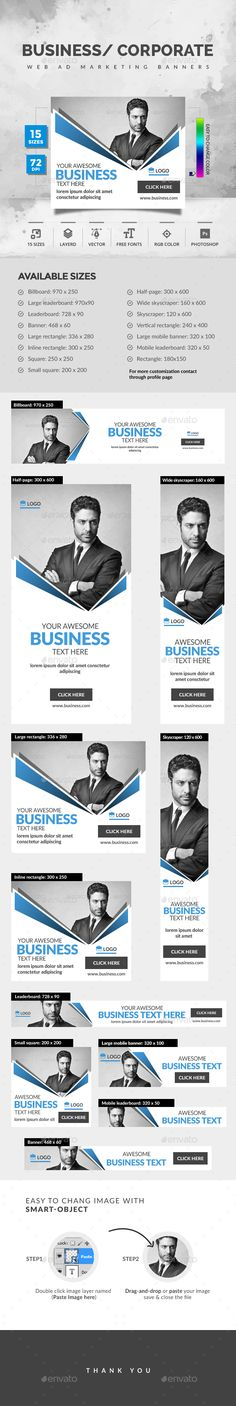 Corporate Banner Template PSD