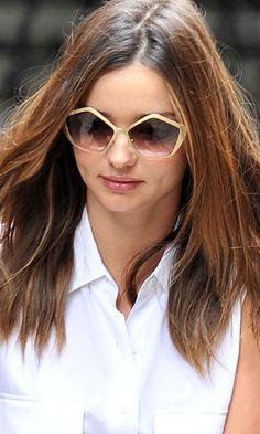 cd65505f3cf Miranda Kerr in Miu Miu Culte sunglasses - Celebrity Accessories Watch -  Celebrity Accessories Watch