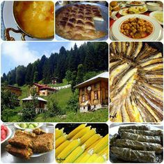 Karadeniz Yemekleri, Food of Black Sea, from part of northern Anatolia.