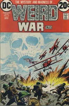 Cover for Weird War Tales (DC, 1971 series) #15